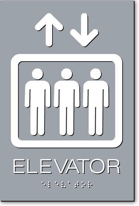 elevator sign simple sign maker